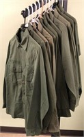 Military Issued Fatigue Shirts