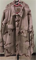 Military Issued Desert Fatigue Jackets