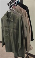 Military Issued Shirts plus one new