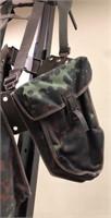 German Shoulder Bag with Harness