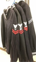 Naval Military Issued Seaman Jackets