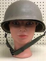 Vietnam Military Issued Helmet w/Liner