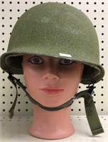 Vietnam Military Issued Helmet w/ insert