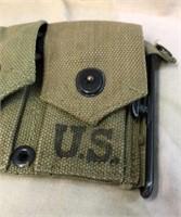 WWII Bar Ammo Belt w/ Enblocs