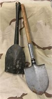 Vietnam Era Military Issued Shovel