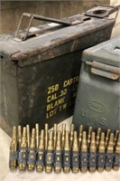 Ammunition Boxes, Blank Rounds & Tool Pouch