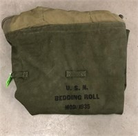 USN Military Issued Bedding Roll