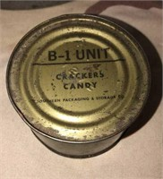 WWII Military Issued C Ration + extra