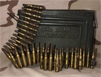 Military Issued 30 Cal Ammo Box