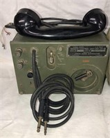 Military Radio & WWII Backpack Bag