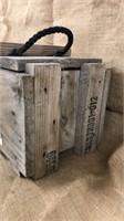 WWII Cannon Crate & Cartridge