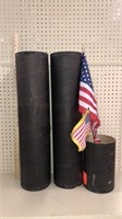 2 Ammo Containers plus 1/2 w/Flags