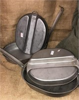 Military Issued Pup Tent, Vietnam Mess Kits &