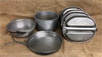 Vietnam Era Mess Kits & Cooking Pots