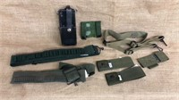 Ammo Belts, Pouches & Leather Case