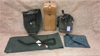 Military Issued Field Bags