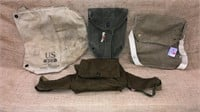 WWII Military Issued Field Bags