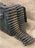 Military Ammo Box with Blank Rounds
