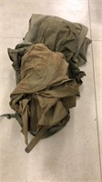 Large Lot of Military Canvas