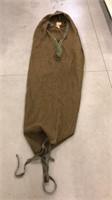 Military Sleeping bag, air mattress & netting