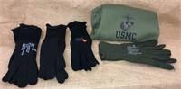 Wool Glove Inserts & Marine Sweats