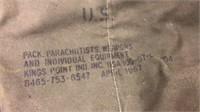 Military Parachutists Bag