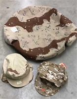 Desert Camo Backpack Cover & Caps