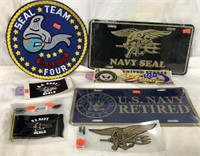 Naval Stickers & Plates
