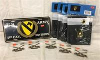 Army 1st Cav Lot