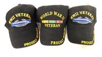 WWII Veteran Ball Caps