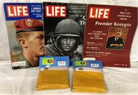 Life Magazines & Vietnam Flags