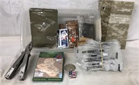 Multi Tool, MRE Packets & More