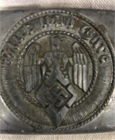 German SS Buckle & Patches