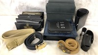 Military Belts & some cases