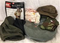 Helmet Covers, Bug Pants, Bos Scarf & More