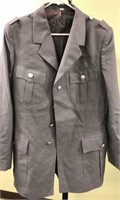 5 East German Military Officer Tunics