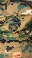 Camo Marine Corps Covers w/ Emblem