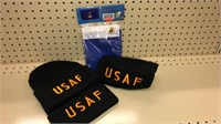 Air Force Hats & Flag