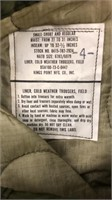 Wool Pant Liners