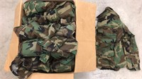 Military Issued Woodland Fatigue Shirts