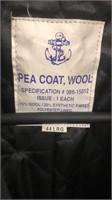 Pea Coat Wool Coats