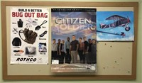 Large Bulletin Board & Posters