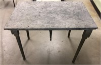 Army 194th Airborne Chapel Table