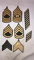 Army Military Rank Chevrons