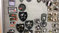 US Military Rank Chevrons & Velcro Patches