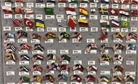 Coast Guard & Flags of the World Pins