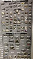 Military Aircraft Pins