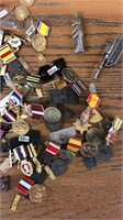 Medals & Ribbons, Weapons & Equipment Pins