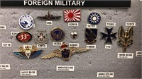 Pirates, Skulls, Military & Foreign Pins