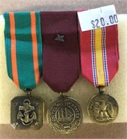 Honorable Discharge Miniature Medals